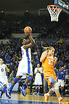 UK junior forward Samarie Walker shooting the ball during the second half of the women's basketball game vs. Tennessee at Memorial Coliseum on Sunday, March 3, 2013, in Lexington, Ky. Photo by Kalyn Bradford | Staff