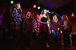 Title IX, a female a cappella group at Ohio University, performs during the Creative Arts as Activism: Open Mic Night at Casa Nueva on Jan. 19, 2017.