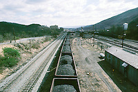 MINING: COAL: TRANSPORTED BY RAIL