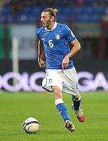 Fussball International  WM Qualifikation 2014   Italien - Daenemark                16.10.2012 Federico Balzaretti (Italien)