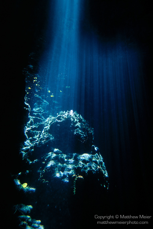Underwater light rays photo 005001f