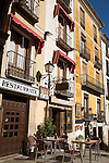 Los Arcos Restuarant, Plaza Mayor Square, Cuenca, Spain