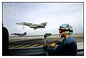 Mer M&eacute;diterran&eacute;e<br /> Porte Avions Charles de Gaulle Appontage d'un Super Etendard