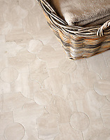 Chatham 2, a natural stone waterjet mosaic shown in honed Durango, is part of the Silk Road Collection by Sara Baldwin for New Ravenna Mosaics. Take the next step: prices, samples and design help, http://www.newravenna.com/showrooms/