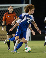 Winthrop University Eagles vs the Brevard College Tornados at Eagle's Field in Rock Hill, SC.  The Eagles beat the Tornados 6-0.  Augusto Isern (18)