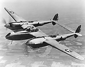 Lockheed YP-38 (1943).  The Lockheed P-38 Lightning was simply the most versatile aircraft used in World War 2.  After a lengthy developmental period, the P-38 eventually flourished in multiple roles. In its designed role, the P-38 was an effective fighter and was the main aircraft for most of the aces in the Pacific Theater of Operations. However, the P-38 was modified to become a world-class reconnaissance aircraft, an effective night fighter, and even an excellent strike/attack aircraft. .Credit: U.S. Air Force via CNP