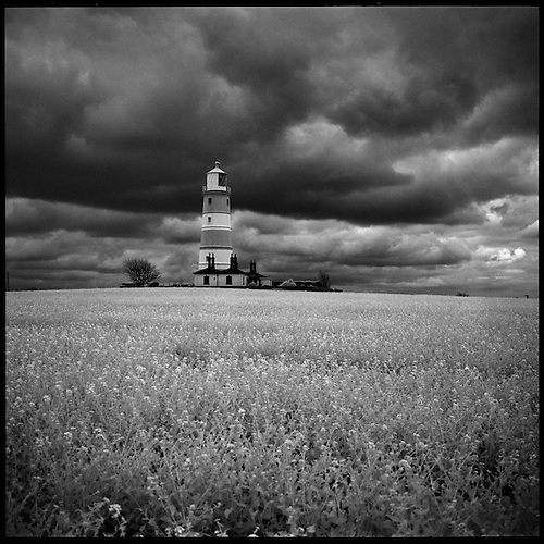 Happisburgh Lighthouse I, Norfolk 2013 by Paul Cooklin