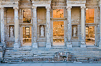 The ruins of the ancient city of Ephesus in Turkey