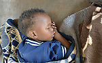 A child during nap time at the Jairos Jiri School for people living with disabilities in Bulawayo, Zimbabwe.
