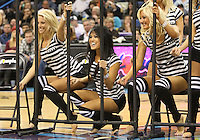 Feb 19, 2010; New Orleans, LA, USA; New Orleans Hornets Honeybees dancers perform during a break in the action of a game against the Indiana Pacers at the New Orleans Arena. Mandatory Credit: Derick E. Hingle-US PRESSWIRE