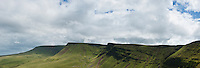 Fan Foel, Picws Du and Bannau Sir Gaer ridge; Black mountain; Brecon Beacons national park; Wales