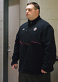 Russell DeRosa (BC - Director, Strength & Conditioning) - The Northeastern University Huskies defeated the Boston University Terriers 3-2 in the opening round of the 2013 Beanpot tournament on Monday, February 4, 2013, at TD Garden in Boston, Massachusetts.