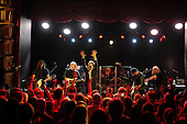 MIAMI, FL - DECEMBER 03: Phil X, Hugh McDonald, Tico Torres, Jon Bon Jovi and David Bryan of Bon Jovi perform a private concert presented by Sirius XM at The Faena Theater on December 3, 2016 in Miami Florida. Credit Larry Marano © 2016