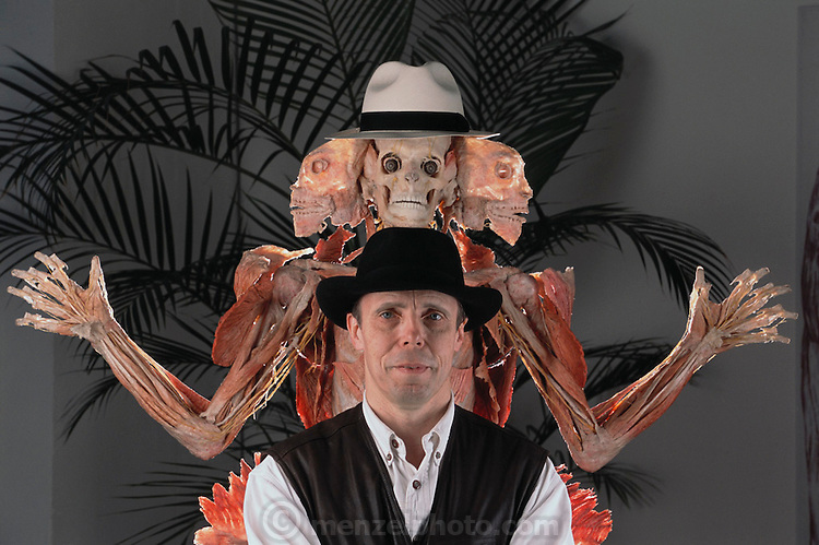 ... human bodies and body parts. Von Hagens invented plastination as a way