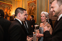 Kathleen Sebelius, Secretary of Health and Human Services, attends the Bloomberg Vanity Fair White House Correspondents' Association dinner afterparty at the residence of the French Ambassador on Saturday, April 28, 2012 in Washington, DC. Brendan Hoffman for the New York Times