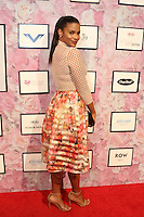 NEW YORK, NY - SEPTEMBER 13: Kamie Crawford pictured at the Vipe Activewear Fashion Show featuring Vipe Noir by Angela Simmons at KIA Style 360 during New York Fashion Week on September 13, 2016. Credit: Walik Goshorn/MediaPunch