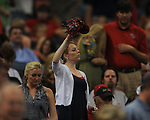 Ole Miss fans cheer against Tulane at the Louisiana Superdome in New Orleans, La. on Saturday, September 11, 2010. Ole Miss won 27-13.