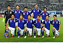 Japan team group line-up (JPN), OCTOBER 11, 2011 - Football / Soccer : Japan team group shot (Top row - L to R) Eiji Kawashima, Maya Yoshida, Yasuyuki Konno, Mike Havenaar, Kengo Nakamura, (Bottom row - L to R) Makoto Hasebe, Yasuhito Endo, Shinji Okazaki, Yuichi Komano, Yuto Nagatomo and Shinji Kagawa before the 2014 FIFA World Cup Asian Qualifiers Third round Group C match between Japan 8-0 Tajikistan at Nagai Stadium in Osaka, Japan. (Photo by Takamoto Tokuhara/AFLO)
