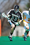 3 April 2010: Binghamton University Bearcats' Midfielder Chris Cook, a Sophomore from Vestal, NY, in action against the University of Vermont Catamounts at Moulton Winder Field in Burlington, Vermont. The Catamounts defeated the visiting Bearcats 11-8 in Vermont's opening home game of the 2010 season. Mandatory Credit: Ed Wolfstein Photo
