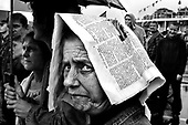Szczecin 16 July 2008 Poland.<br /> The Szczecin shipyard.<br /> The Polish shipyard industry is in a deep crisis. The Gdansk and Szczecin shipyards are under the threat of liquidation. The battle between the Polish government, creditors and European Union rages on. Spyard workers live under immense pressure of dissmissals. They are completely unsure of their future; they leave, search for work in England, Irland, Norway. During last two months over 25 % of workers left the Szczecin shipyard. The trade union Solidarnosc, with its cradle shipyard in Gdansk fought for free Poland 27 years ago. Today it fights for the survival of the shipyard.It organizes manifestations and pickets.<br /> ( &copy; Filip Cwik / Napo Images for Newsweek Poland )<br /> <br /> Szczecin 16 lipca 2008 Polska.<br /> Polski przemysl stoczniowy pograzony jest w glebokim kryzysie. Stoczniom z Gdanska i Szczecina grozi likwidacja. Gra sie toczy pomiedzy Polskim rzadem, wierzycielami a Unia Europejska. Stoczniowcom groza zwolnienia grupowe. Nie sa pewni przyszlosci; odchodza, wyjezdzaja do Anglii, Irlandii, Norwegii.  W ciagu dwoch miesiecy ze stoczni Szczecinskiej zwolnilo sie 25% pracownikow. Zwiazek zawodowy Solidarnosc, ktorej kolebka jest zaklad w Gdansku 27 lat temu walczyl o wolna Polske, dzis walczy o utrzymanie zakladu pracy. Organizuje protesty manifestacje i pikiety.<br /> <br /> ( &copy; Filip Cwik / Napo Images dla Newsweek Polska )