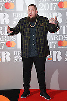 Rag 'n' Bone Man - Rory Graham at the 2017 Brit Awards at the O2 Arena in London, UK. <br /> 22 February  2017<br /> Picture: Steve Vas/Featureflash/SilverHub 0208 004 5359 sales@silverhubmedia.com