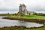 Dunguaire Castle, built 1520, located in Kinvara on Galway Bay, County Galway, Ireland