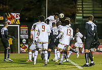 College Park,MD - Sunday, November 20 2016: Providence defeated Maryland 5-4 in an NCAA DIV. 1 Men's tournament match at Ludwig Field.