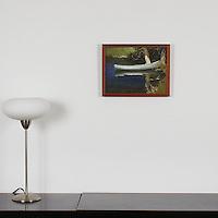 "Lawson: , Digital Print, Image Dims. 10.75"" x 14.25"", Framed Dims. 11.75 x 15.25"""