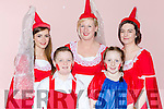 Michelle Breen, Caden O'Dnoghue, Siobhain Carmody, Miriam O'Sullivan and Chloe McCarthy who participated in the Sleeping Beauty Panto in Rathmore on Sunday