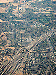 Rosevellie rail yards, USA Fly-over County-from the window seat of Southwest #1882 from SMF to DAL, September 2016