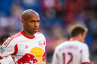 Thierry Henry (14) of the New York Red Bulls. The New York Red Bulls and the Columbus Crew played to a 2-2 tie during a Major League Soccer (MLS) match at Red Bull Arena in Harrison, NJ, on May 26, 2013.
