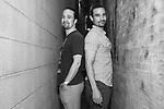 Lin-Manuel Miranda and Javier Muñoz - Photo Shoot