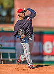 4 March 2013: Minnesota Twins pitcher Pedro Hernandez warms up in the bullpen during a Spring Training game against the St. Louis Cardinals at Roger Dean Stadium in Jupiter, Florida. The Twins shut out the Cardinals 7-0 in Grapefruit League play. Mandatory Credit: Ed Wolfstein Photo *** RAW (NEF) Image File Available ***