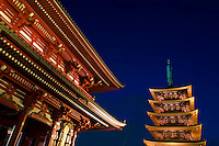 Sensoji , also known as Asakusa Kannon, is Tokyo's largest Buddhist temple and a major attraction for Japanese and foreigners alike