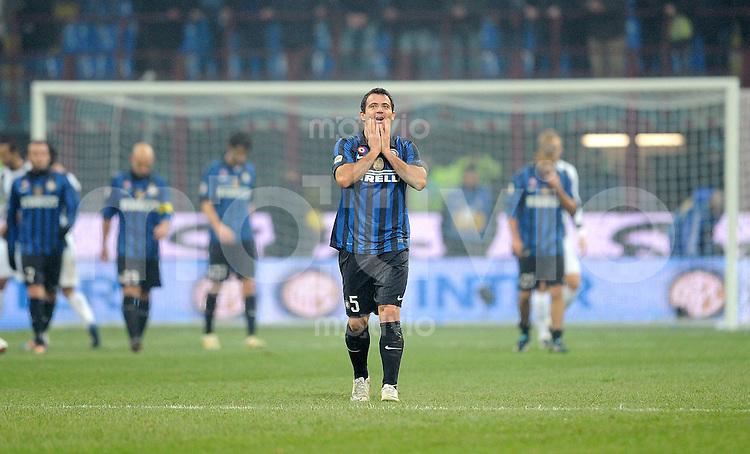 FUSSBALL INTERNATIONAL   SERIE A   SAISON 2011/2012    Inter Mailand - Udinese Calcio   03.12.2011 Dejan Stankovic (Inter Mailand)