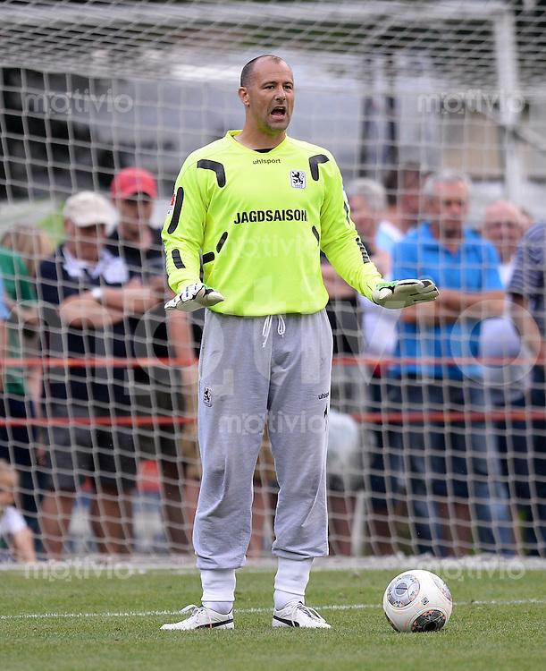 FUSSBALL  1. Bundesliga   2013/2014   Testspiel in Zell am Ziller SV Werder Bremen - 1860 Muenchen      10.07.2013 Torwart Gabor Kiraly (1860 Muenchen)