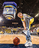 The University of Michigan men's basketball team defeated Northern Michigan University, 83-47, in exhibition play at Crisler Arena on November 1, 2012.