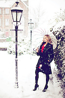 2/12/2010. Model Sarah Morrissey. Fashion feature for Irish Mirror. James Horan/Collins Photos.