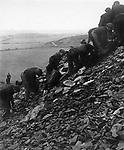 Coal seachers near Henworth, 1937