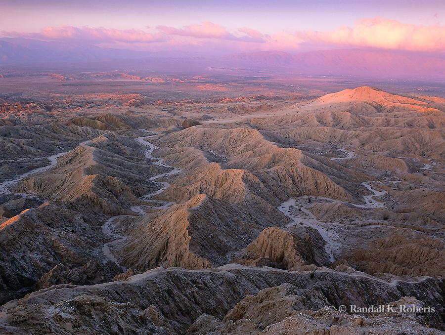 Sunrise from Font's Point, Anza-Borrego Desert State Park, California