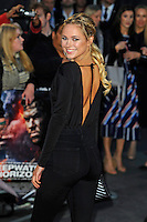 LONDON, ENGLAND - SEPTEMBER 26: Kimberley Garner attending the 'Deepwater Horizon' European Premiere at Cineworld, Leicester Square on September 26, 2016 in London, England.<br /> CAP/MAR<br /> &copy;MAR/Capital Pictures /MediaPunch ***NORTH AND SOUTH AMERICAS ONLY***