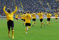 Fussball 2. Bundesliga 2011/12: Dynamo Dresden - FC Energie Cottbus