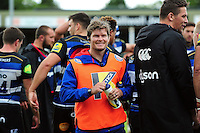 Bath Rugby Strength and Conditioning Coach Guy Lewis looks on after the match. Pre-season friendly match, between the Scarlets and Bath Rugby on August 20, 2016 at Eirias Park in Colwyn Bay, Wales. Photo by: Patrick Khachfe / Onside Images