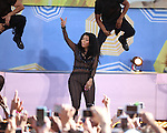 """Nicki Minaj performs as part of """"Good Morning America's"""" 2015 Summer Concert Series in Central Park"""