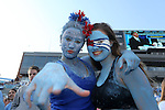 19 November 2016: UNC fans. The University of North Carolina Tar Heels hosted the The Citadel, The Military College of South Carolina Bulldogs at Kenan Memorial Stadium in Chapel Hill, North Carolina in a 2016 NCAA Division I College Football game. UNC won the game 41-7.