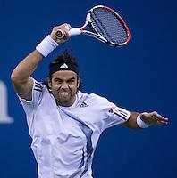 Fernando Gonzalez (CHI) (11) against Rafael Nadal (ESP) (3) in the Quarterfinals. Nadal beat Gonzalez 7-6 7-6 6-0 ..International Tennis - US Open - Day 11 Thu 10 Sep 2009 - USTA Billie Jean King National Tennis Center - Flushing - New York - USA ..© Frey Images, Barry House, 20-22 Worple Road, London, SW19 4DH.Tel - +44 20 8947 0100.Cell - +447843 383 012.Email - mfrey@advantagemedianet.com