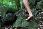Greg Solatorio, Halawa Valley Falls Cultural Hike, Molokai, Hawaii, USA