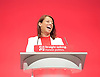 Labour Conference, Brighton, Great Britain <br /> 27th September 2015 <br /> <br /> Gloria de Piero <br /> speech <br /> Young People &amp; Registration minister <br /> <br /> <br /> Photograph by Elliott Franks <br /> Image licensed to Elliott Franks Photography Services