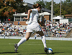 North Carolina's Heather O'Reilly on Sunday, October 15th, 2006 at Fetzer Field in Chapel Hill, North Carolina. The University of North Carolina Tarheels defeated the Virginia Tech Hokies 1-0 in an Atlantic Coast Conference NCAA Division I Women's Soccer game.