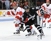 (MacGregor) Derek Army (PC - 19) - The Boston University Terriers defeated the visiting Providence College Friars 4-2 (EN) on Saturday, December 13, 2012, at Agganis Arena in Boston, Massachusetts.